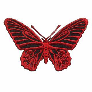 Patch - farfalla - rosso - toppa