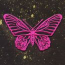 Parche - Mariposa - pink