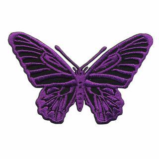 Patch - Butterfly - purple