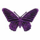 Aufnäher - Schmetterling - lila - Patch