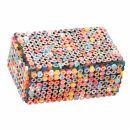 Schachtel - Box- Buntstifte - Recycling