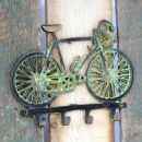 Coathook - Bicycle - Brass
