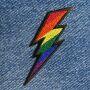 Patch - Flash - rainbow colors