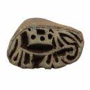 Stempel aus Holz - Elefant - links - 3 cm - Holzstempel