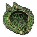 Räucherkegelhalter - Shiva und Ganesha - Messing -...