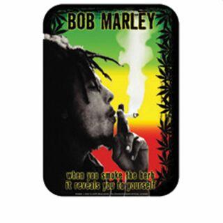Aufkleber - Bob Marley - Smoking Herb - Sticker
