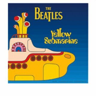 Adhesivo - Beatles - Yellow Submarine