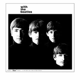 Aufkleber - Beatles - with the Beatles - Sticker