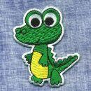 Aufnäher - kleiner Dino - Krokodil - Patch