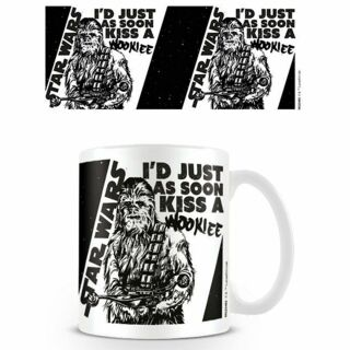 Tasse ° Star Wars - Id just as soon kiss a Wookie ° Kaffeetasse