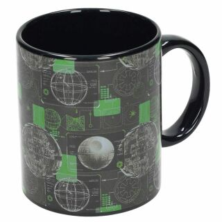Tasse ° Star Wars - Rogue One Todesstern ° Kaffeetasse
