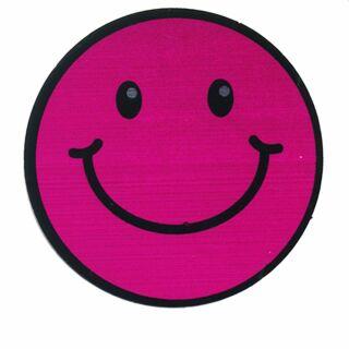 Aufkleber - Smiler - magenta - Sticker