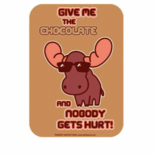 Sticker - Give me chocolate