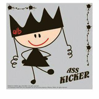 Sticker - Ass Kicker