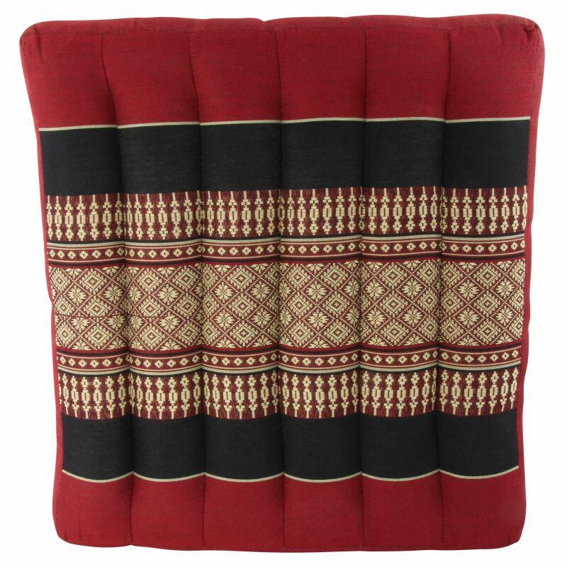 sitzkissen thaikissen rot modell 02 111 20 skr. Black Bedroom Furniture Sets. Home Design Ideas