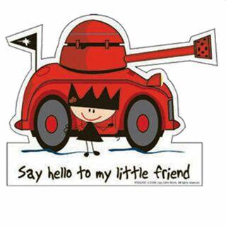 Sticker - Say hello