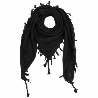 Palituch - schwarz - schwarz - Kufiya PLO Tuch