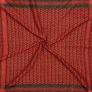 Kufiya - black - red - Shemagh - Arafat scarf