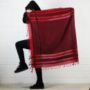 Palituch - rot - schwarz - Kufiya PLO Tuch