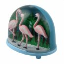 Snow dome - Shaking ball - Flamingo