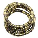 Halskette - biegsame Schlangenkette - mix -...