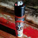 Clipper Feuerzeug - Mexikanischer Totenkopf 3