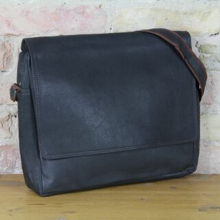 Business leather case Leyla made of sturdy leather -...