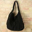 Leather bag Lolita suede model 01