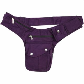 Hip Bag - Buddy - purple - silver-coloured - Bumbag -...