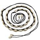 Modischer Taillengürtel mit Kaurimuscheln - Boho...
