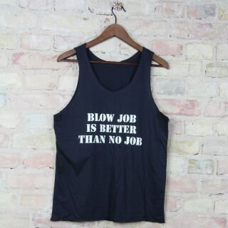 Tank Top unisex mit Aufdruck BLOW JOB