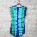 Batikkleid - onesize - mit Ärmel - Modell 04