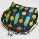 70s Up Purse Small clip - Pattern 13 - Money pouch
