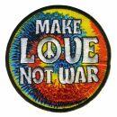Patch - Make love not war - multicolor