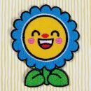 Patch - fiore - che ride - toppa