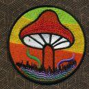 Aufnäher - Mushroom - bunt - Patch