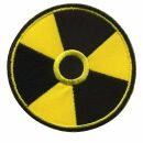 Patch - Atomic power sign - Radioactivity - radioactive -...