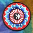Aufnäher - Yin Yang Blume - Patch