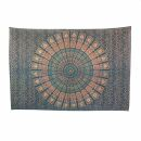 Bedcover - decorative cloth - Mandala - Pattern 01 - 54x83in