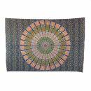 Bedcover - decorative cloth - Mandala - Pattern 03 - 54x83in