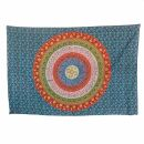 Bedcover - decorative cloth - Mandala - Pattern 08 - 54x83in