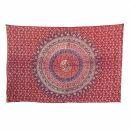 Bedcover - decorative cloth - Mandala - Pattern 09 - 54x83in