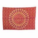 Bedcover - decorative cloth - Mandala - Pattern 11 - 54x83in