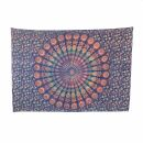 Bedcover - decorative cloth - Mandala - Pattern 13 - 54x83in