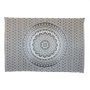 Bedcover - decorative cloth - Mandala - Pattern 14 - 54x83in