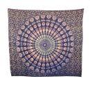 Bedcover - decorative cloth - Mandala - Pattern 05 - 83x93in