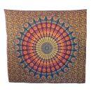 Bedcover - decorative cloth - Mandala - Pattern 06 - 83x93in