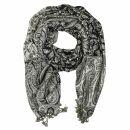 Schal im Pashmina Stil - Muster 08 - 190x70cm - Ethno...