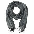 Schal im Pashmina Stil - Muster 09 - 190x70cm - Ethno...