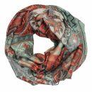 Schal im Pashmina Stil - Muster 10 - 190x70cm - Ethno...